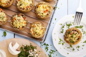 champignons-farcis-rillettes