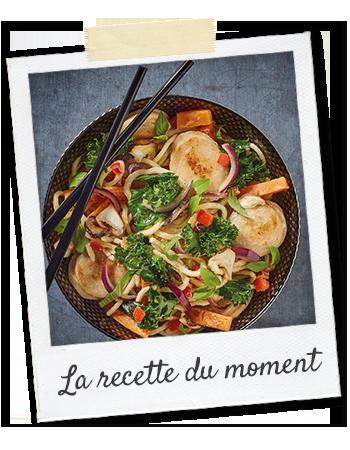bahier-recette-du-moment-wok boudin blanc